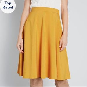 ModCloth Just This Sway A-Line Skirt sz L